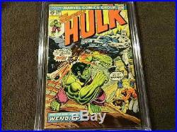 1974 MARVEL Comics THE INCREDIBLE HULK #180 1st Cameo App. WOLVERINE CGC 6.0