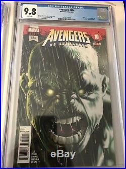 Avengers #684 CGC 9.8 1st Immortal Hulk 1st Print Cover A Mark Brooks Hot Book