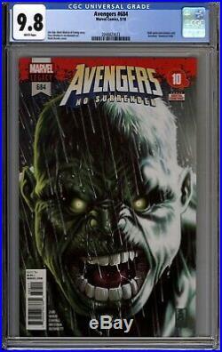 Avengers #684 CGC 9.8 NM/MT 1st App Immortal Hulk Marvel 2018