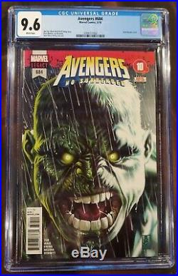 Avengers #684 No surrender CGC 9.6 1st Appearance Immortal Hulk Marvel Comic