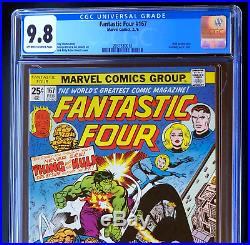 FANTASTIC FOUR #167 CGC 9.8 RARE 1 of 24! HULK App! Jack Kirby Marvel 1961