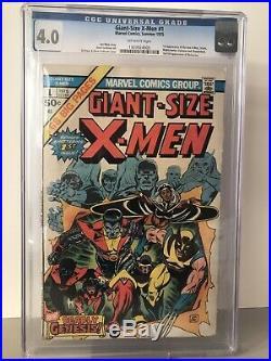 GIANT SIZE X-MEN #1 1st App New X-Men CGC 4.0
