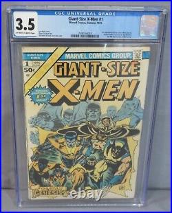 GIANT-SIZE X-MEN #1 (Storm, Colossus, Nightcrawler) CGC 3.5 Marvel Comics 1975