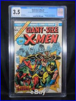 Giant Size X-Men #1 CGC 3.5 1st App New X-Men Dave Cockrum Cover