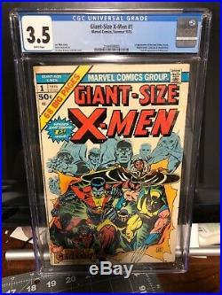 Giant Size X-Men #1 CGC 3.5 (1st app. Nightcrawler / Storm / Colossus) KEY