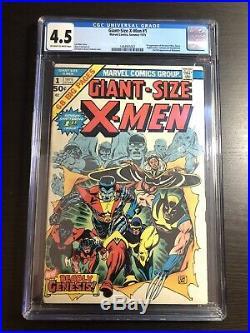 Giant Size X-Men #1 CGC 4.5 OWithWhite 1st App. Of Storm, Nightcrawler, Colossus