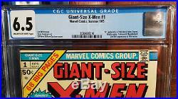 Giant Size X-Men #1 CGC 6.5 1st app of the New X-Men Storm, Nightcrawler
