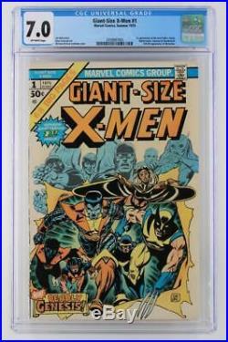 Giant-Size X-Men #1 CGC 7.0 FN/VF Marvel 1975- 1st App New X-Men 2nd Wolverine