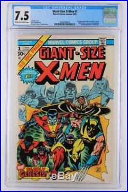 Giant-Size X-Men #1 CGC 7.5 VF- Marvel 1975 1st App New X-Men-2nd Wolverine