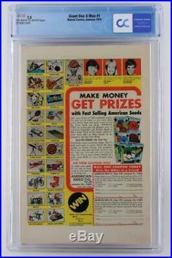 Giant-Size X-Men #1 CGC 7.5 VF- Marvel 1975 1st App New X-Men 2nd Wolverine