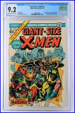 Giant-Size X-Men #1 CGC 9.2 NM- Marvel 1975 1st App New X-Men! 2nd Wolverine