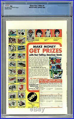 Giant Size X-Men #1 CGC 9.8 1975 2090557002 1st app. New X-Men