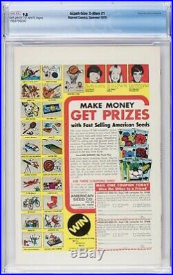 Giant Size X-Men #1 CGC 9.8 Storm, Nightcrawler, Wolverine 1969796002