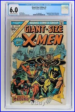 Giant-Size X-Men #1 Marvel 1975 CGC 6.0 1st App of the New X-Men