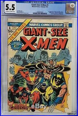 Giant-size X-men #1 Cgc 5.5 1st Storm Nightcrawler Colossus