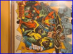 Giant-size x-men 1 CGC 6.0. Signed by Chris Claremont