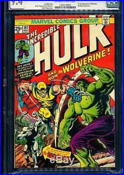 HULK #181 CGC 9.4 1st full Wolverine