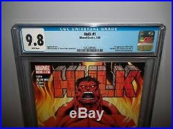 HULK #1 First 1st Appearance RED HULK CGC 9.8 NM! MARVEL COMICS