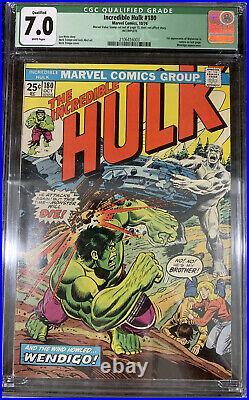 Hulk 180 Cgc 7.0