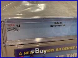 Hulk 1 CGC Graded 9.8 NM/MT 1st Appearance Red Hulk Marvel Comics 2008 First #1