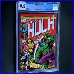 IMMORTAL HULK #1 CGC 9.8 WAITE 16 BIT VARIANT Incredible Hulk 181 Homage