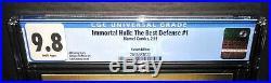 IMMORTAL HULK THE BEST DEFENSE #1 Variant 150 GRANOV Cover 2 0 1 9 CGC 9.8 HTF