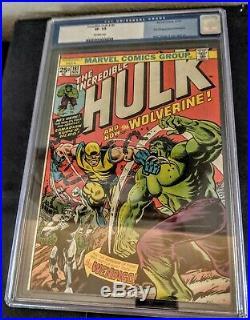 INCREDIBLE HULK #181 CGC 7.5 VF- (Nov 1974, Marvel)