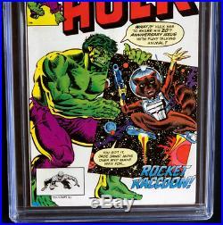 INCREDIBLE HULK #271 (1982) CGC 9.0 WHITE PGs 1ST APP ROCKET RACCOON! KEY