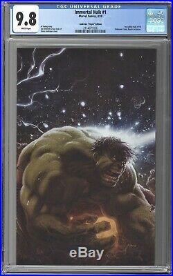 Immortal Hulk #1, Iron Man Tony Stark #1, Thor #1 CGC 9.8 Connecting VIRGIN Set