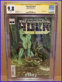 Immortal Hulk #2 Cgc 9.8 Ss Alex Ross Signature Series 1st Print 1st Dr. Frye