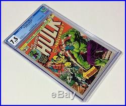 Incredible HULK #181 CGC 7.5 KEY WHITE (1st Wolverine full app.) Nov. 1974 Marvel