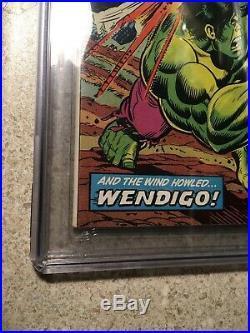 Incredible Hulk #180 CGC 8.5 VF+ Marvel 1974 1st cameo App of Wolverine