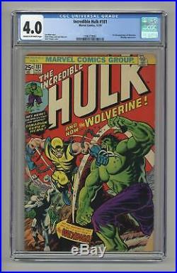 Incredible Hulk #181 CGC 4.0 1974 1396729001