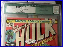 Incredible Hulk # 181 CGC 6.0 Green Label First Wolverine X-Men Wendigo Marvel