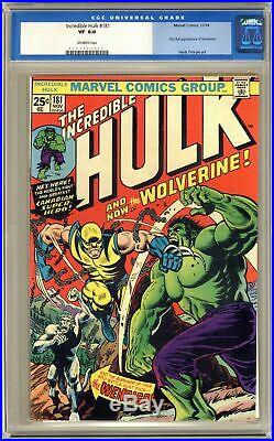 Incredible Hulk #181 CGC 8.0 1974 0102799014 1st app. Wolverine (full non-cameo)
