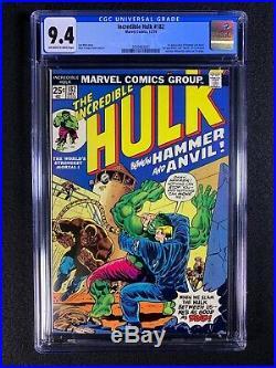 Incredible Hulk #182 CGC 9.4 (1974) 1st app of Hammer and Anvil