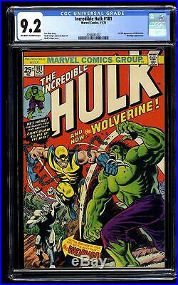 Incredible Hulk (1968) #181 CGC NM- 9.2 Off White to White Marvel Comics