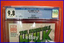 Incredible Hulk #1 1100 Variant CGC 9.8 Marc Silvestri Cover (Marvel 2011)