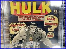 Incredible Hulk #1 CGC 4.5 OWithW Beautiful Colors- No Marvel Chipping