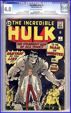 Incredible Hulk # 1 Cgc