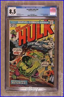 Incredible Hulk (1st Series) #180 1974 CGC 8.5 1497416020