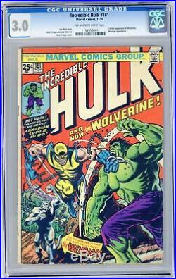 Incredible Hulk (1st Series) #181 1974 CGC 3.0 1159356001