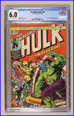 Incredible Hulk (1st Series) #181 1974 CGC 6.0 1990571001