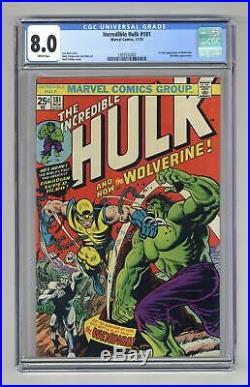 Incredible Hulk (1st Series) #181 1974 CGC 8.0 1393532002