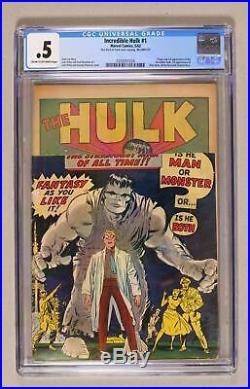 Incredible Hulk (1st Series) #1 1962 CGC 0.5 0359351024