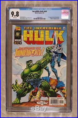Incredible Hulk (1st Series) #449 1997 CGC 9.8 1568524010