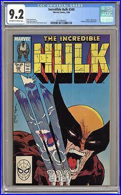 Incredible Hulk #340 CGC 9.2 1988 3715909005
