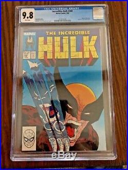 Incredible Hulk #340 CGC 9.8 White Pages McFarlane Free Shipping