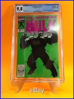 Incredible Hulk 377 1st Print CGC 9.8 WP 1st Professor Hulk Avengers Endgame HTF