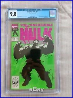 Incredible Hulk #377 1st Professor Hulk Cgc 9.8 Endgame